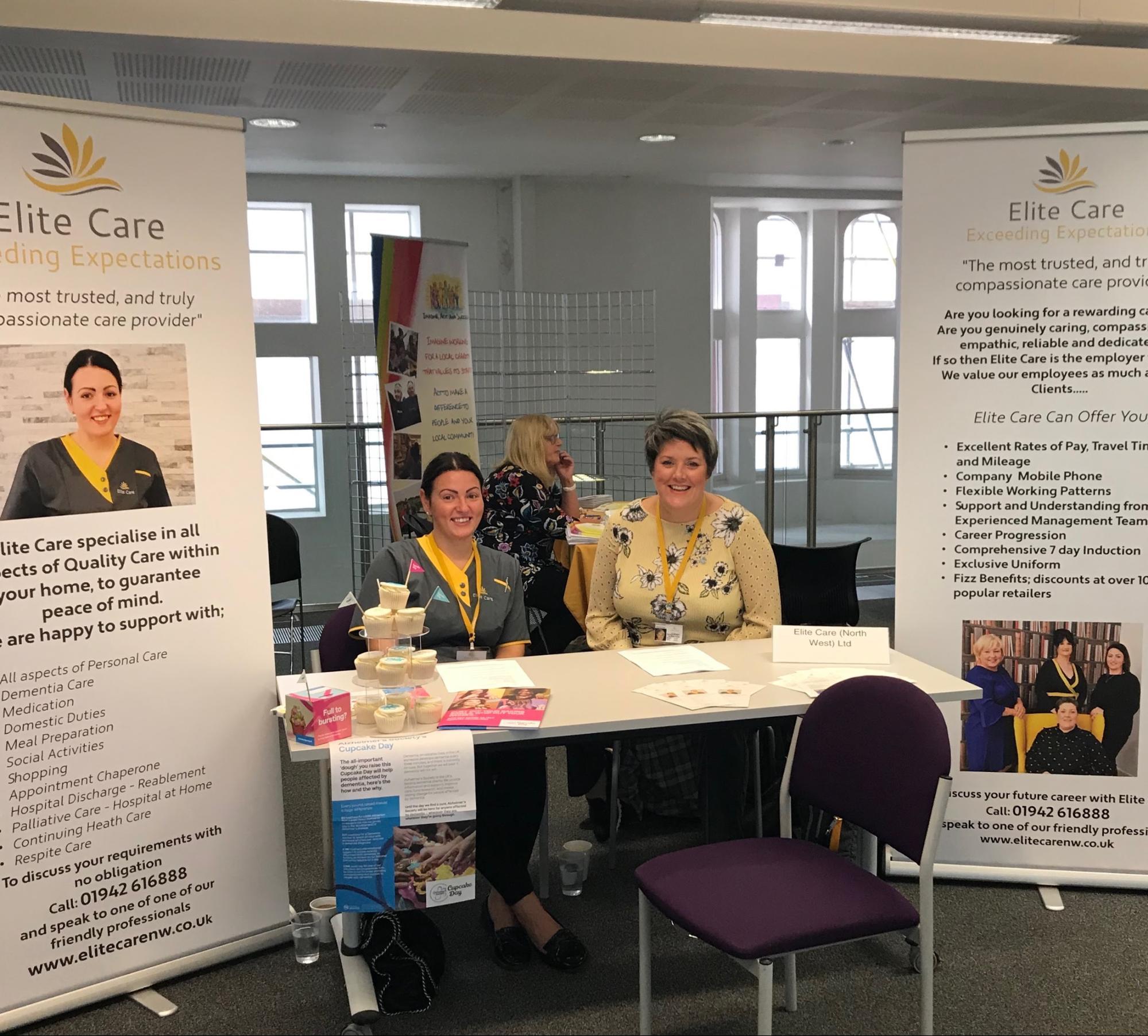 Wigan Social Care Jobs Fair - Elite Care